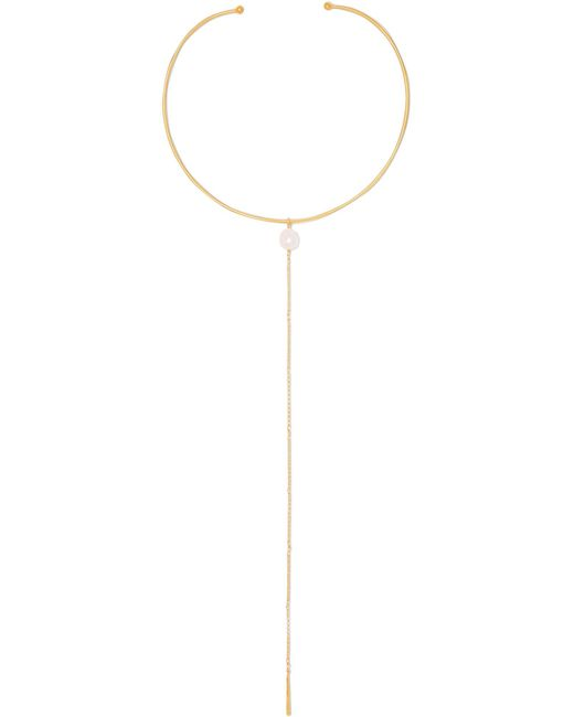 Chan Luu - Metallic Gold-plated Pearl Necklace - Lyst