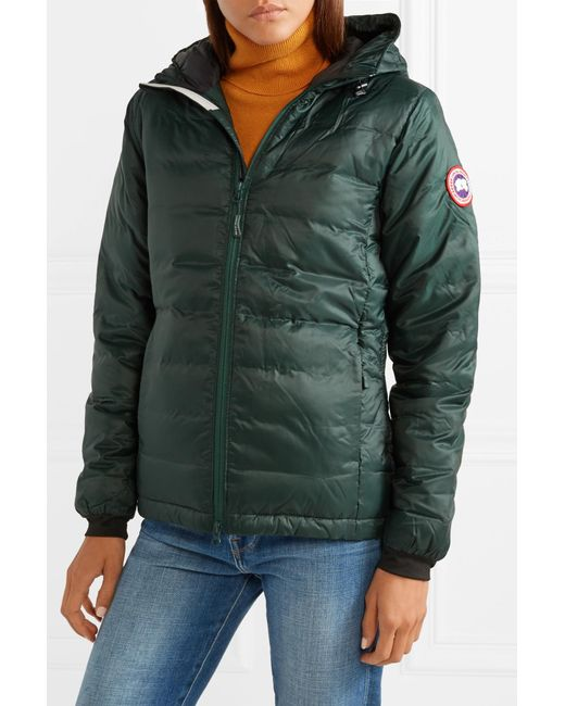 1cd78c587c2 Canada Goose Camp Hooded Quilted Shell Down Jacket in Green - Lyst