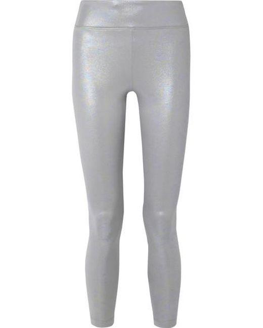 b1314b830a766 Koral - Metallic Drive Iridescent Stretch-scuba Leggings - Lyst ...