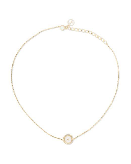 Avalanche 18-karat White Gold Multi-stone Choker - one size Anissa Kermiche ix6CkFh
