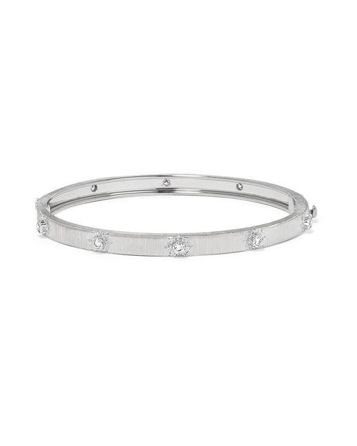 Buccellati - Metallic Macri 18-karat White Gold Diamond Bracelet - Lyst