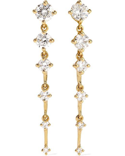 Fernando Jorge - Metallic Sequence 18-karat Gold Diamond Earrings - Lyst