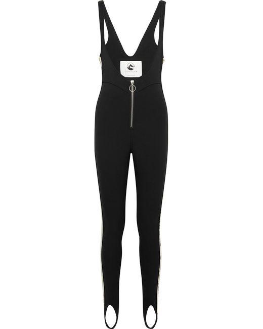 CORDOVA - Black The Vail Striped Stirrup Ski Suit - Lyst