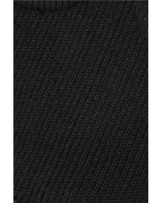 9feab9d6d89 ... Orseund Iris - Black Ribbed-knit Corset - Lyst