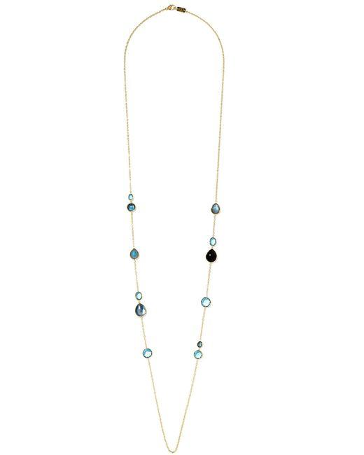 Ippolita - Metallic Rock Candy Lollipop 18-karat Gold Topaz Necklace - Lyst