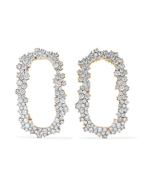 Ana Khouri   Metallic Iolanda 18-karat Gold Diamond Earrings   Lyst
