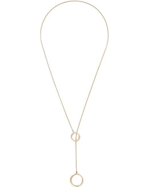 Isabel Marant - Metallic Gold-tone Necklace - Lyst