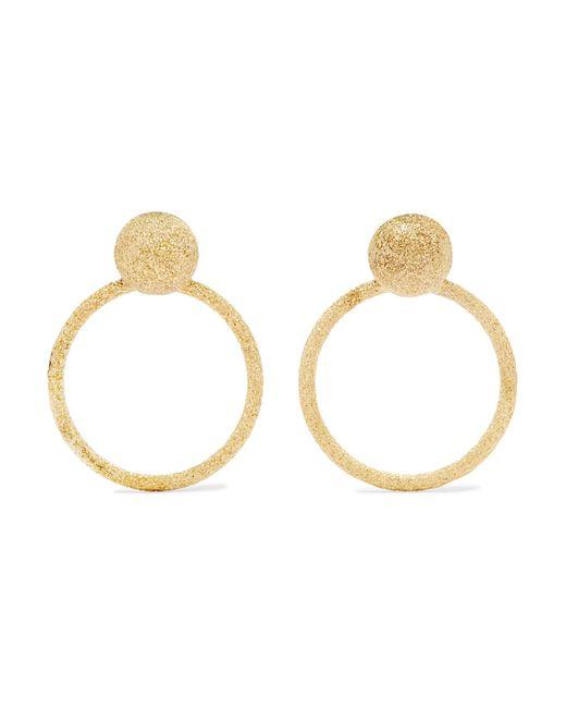 Carolina Bucci - Metallic Florentine 18-karat Gold Earrings - Lyst