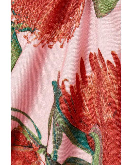 ce086f11f0208 ... Adriana Degreas - Multicolor Twist-front Floral-print Bikini - Lyst