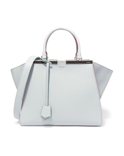 Fendi - Blue 3jours Leather Tote - Lyst