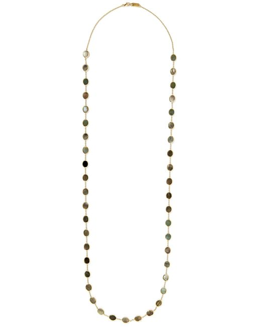 Ippolita - Metallic Polished Rock Candy Confetti 18-karat Gold Shell Necklace - Lyst