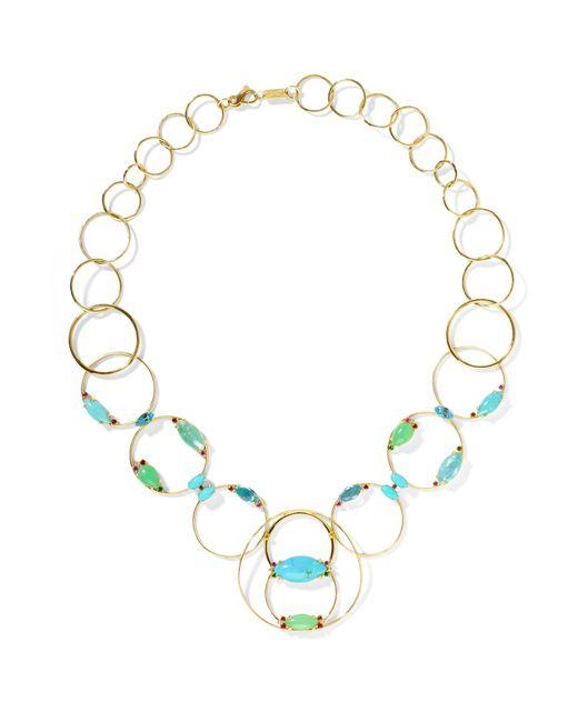 Ippolita - Metallic Prisma 18-karat Gold Multi-stone Necklace - Lyst