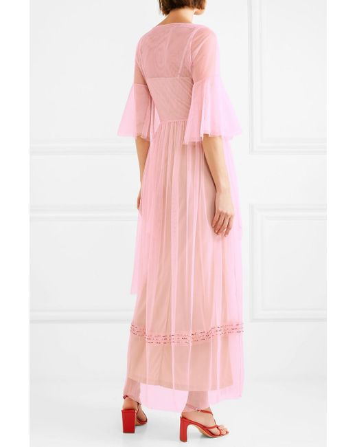 Choice For Sale Sale Get To Buy Tulle maxi dress Staud Eastbay Online Cheap Buy Authentic w4JGP