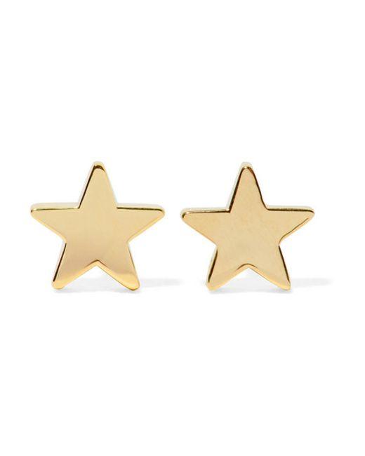 Jennifer Meyer | Metallic Star 18-karat Gold Earrings | Lyst