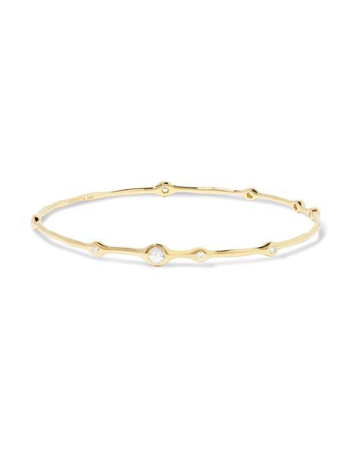 Ippolita | Metallic Classico Stardust Superstar 18-karat Gold Diamond Bracelet | Lyst