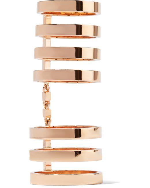 Repossi | Multicolor Berbère 18-karat Rose Gold Ring | Lyst