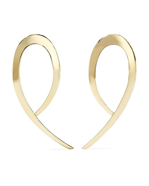 Jennifer Fisher | Metallic Xl Root Gold-plated Earrings | Lyst