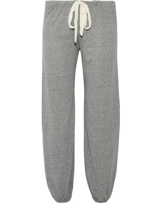 Eberjey | Gray Heather Jersey Pajama Pants | Lyst