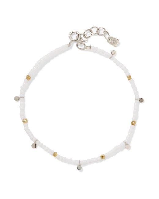 Scosha | White Beach Beaded Bracelet | Lyst