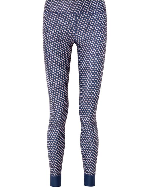 The Upside - Blue Kravat Printed Stretch Leggings - Lyst