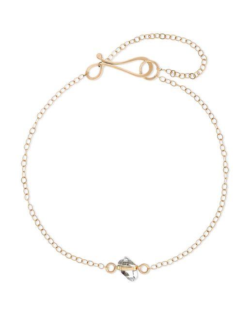 Melissa Joy Manning - Metallic 14-karat Gold Herkimer Diamond Bracelet Gold One Size - Lyst