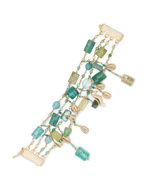Rosantica   Metallic Chela Gold-tone Quartz Bracelet   Lyst