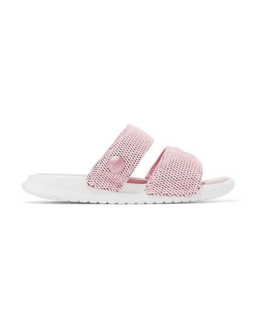 Nike | Pink + Pigalle Lab Benassi Duo Ultra Textured-knit Slides | Lyst