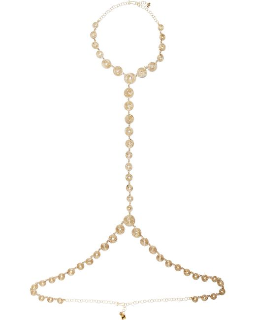 Rosantica | Metallic Soffio Gold-tone Body Chain | Lyst