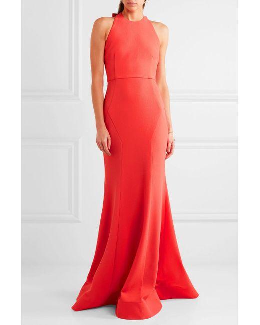 Breakers Open-back Cloqué Midi Dress - Red Rebecca Vallance Clearance Order Deals 93N8q39