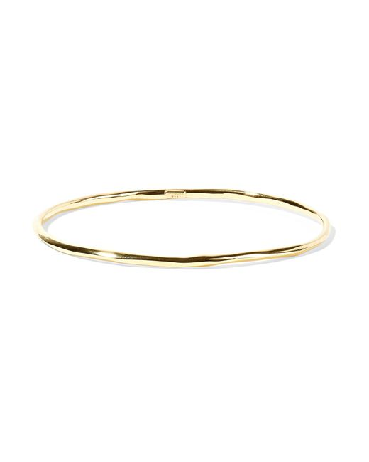 Ippolita - Metallic Classico 18-karat Gold Bangle - Lyst