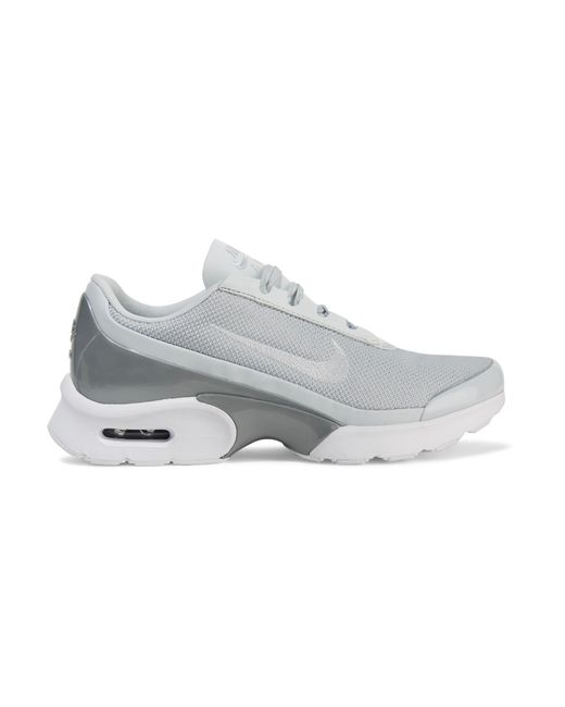 Nike | Metallic Air Max Jewell Leather-trimmed Mesh And Plastic Sneakers | Lyst