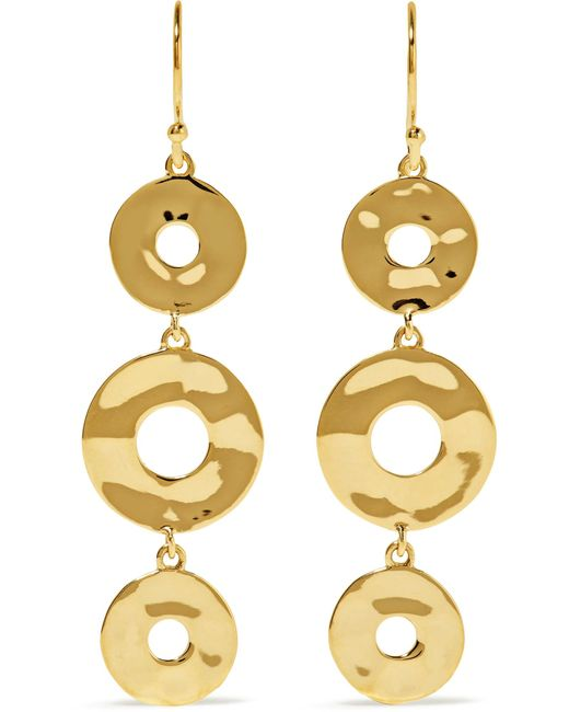 Ippolita | Metallic Senso 18-karat Gold Earrings | Lyst