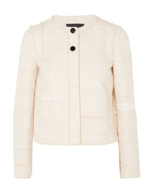 Proenza Schouler | White Lady Cotton-blend Bouclé-tweed Jacket | Lyst