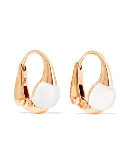 Pomellato - Metallic M'ama Non M'ama 18-karat Gold Topaz Earrings - Lyst