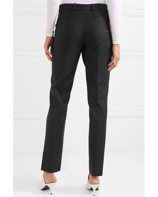 Super 100 Pantalons Hong Conique Laine - Joseph Noir QsWjLH