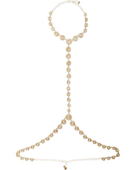 Rosantica   Metallic Soffio Gold-tone Body Chain   Lyst