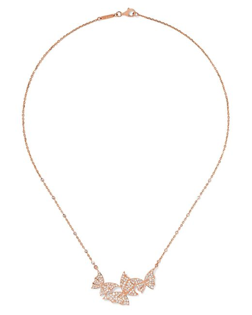 Stephen Webster | Metallic Fly By Night 18-karat Rose Gold Diamond Necklace | Lyst