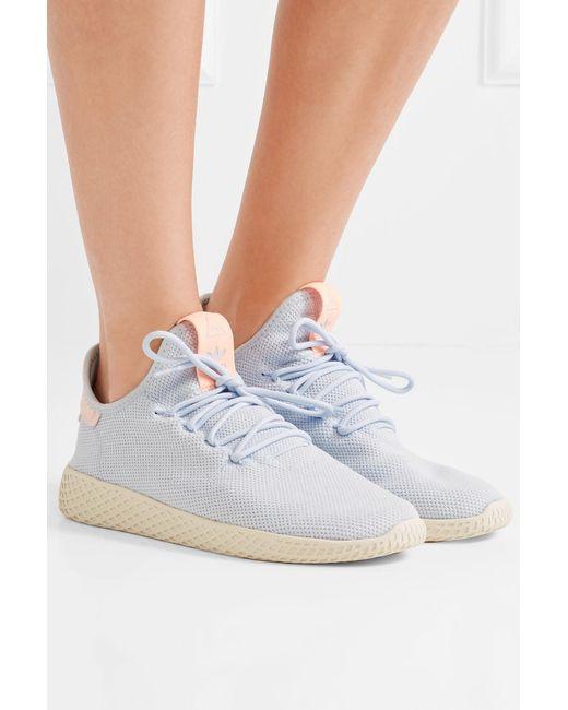 2bc3deb85 ... Adidas Originals - Blue Pharrell Williams Tennis Hu Primeknit Sneakers  - Lyst ...
