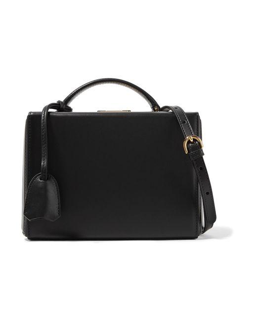 Mark Cross - Black Grace Small Leather Shoulder Bag - Lyst