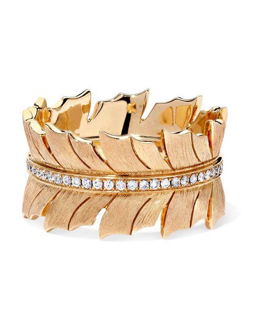 Stephen Webster - Metallic Magnipheasant 18-karat Gold Diamond Ring - Lyst