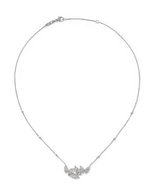 Stephen Webster | Metallic Fly By Night 18-karat White Gold Diamond Necklace | Lyst