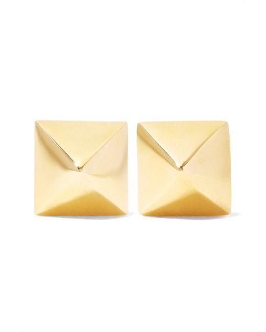 Anita Ko - Metallic Spike 14-karat Gold Earrings - Lyst