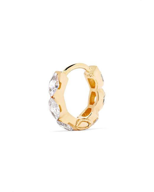 Maria Tash Invisible Eternity 18-karat Gold Diamond Earring WqF91sjL
