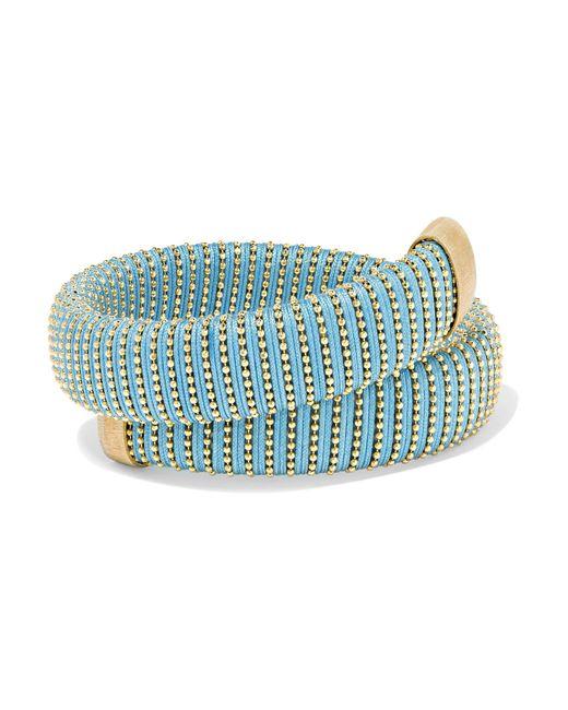 Carolina Bucci | Metallic Caro Gold-plated And Cotton Bracelet | Lyst