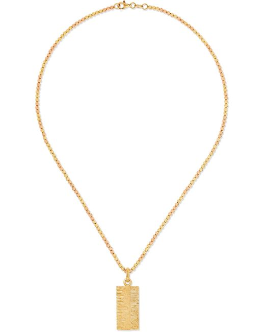 Carolina Bucci - Metallic Disco Ball Golden Rule 18-karat Yellow And Rose Gold Necklace - Lyst