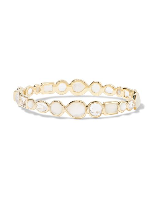 Ippolita | Metallic Rock Candy 18-karat Gold Multi-stone Bracelet | Lyst