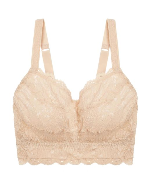 Cosabella - Natural Never Say Never Curvy Sweetie Stretch-lace Soft-cup Bra - Lyst