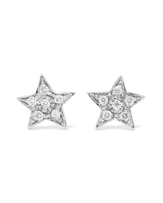 Carolina Bucci | Metallic Superstellar 18-karat White Gold Diamond Earrings | Lyst