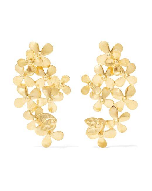 Pippa Small | Metallic 18-karat Gold Earrings | Lyst