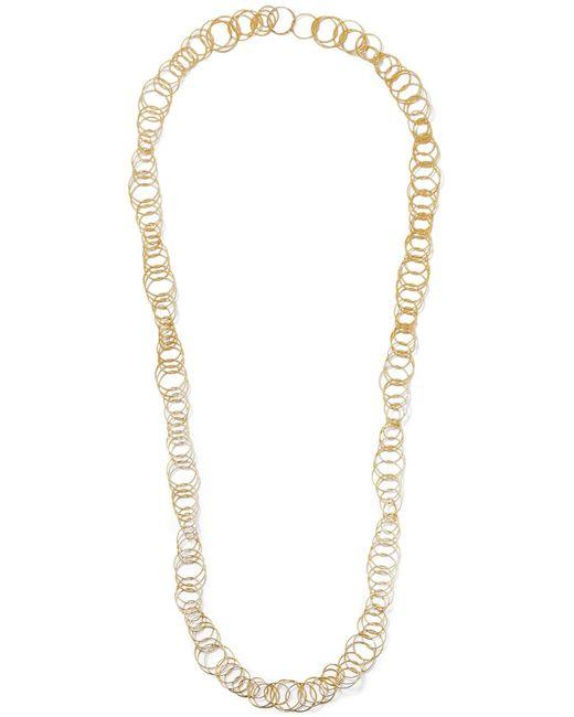 Buccellati - Metallic Hawaii 18-karat Gold Necklace - Lyst